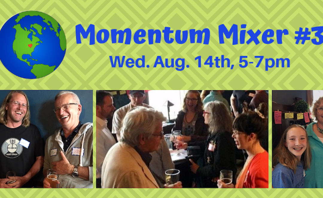 August Happy Hour for Eco-Minded Folks of All Ages!