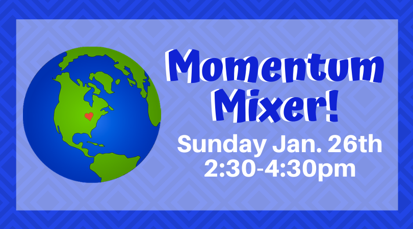 Join us at the Jan. 26th Momentum Mixer!