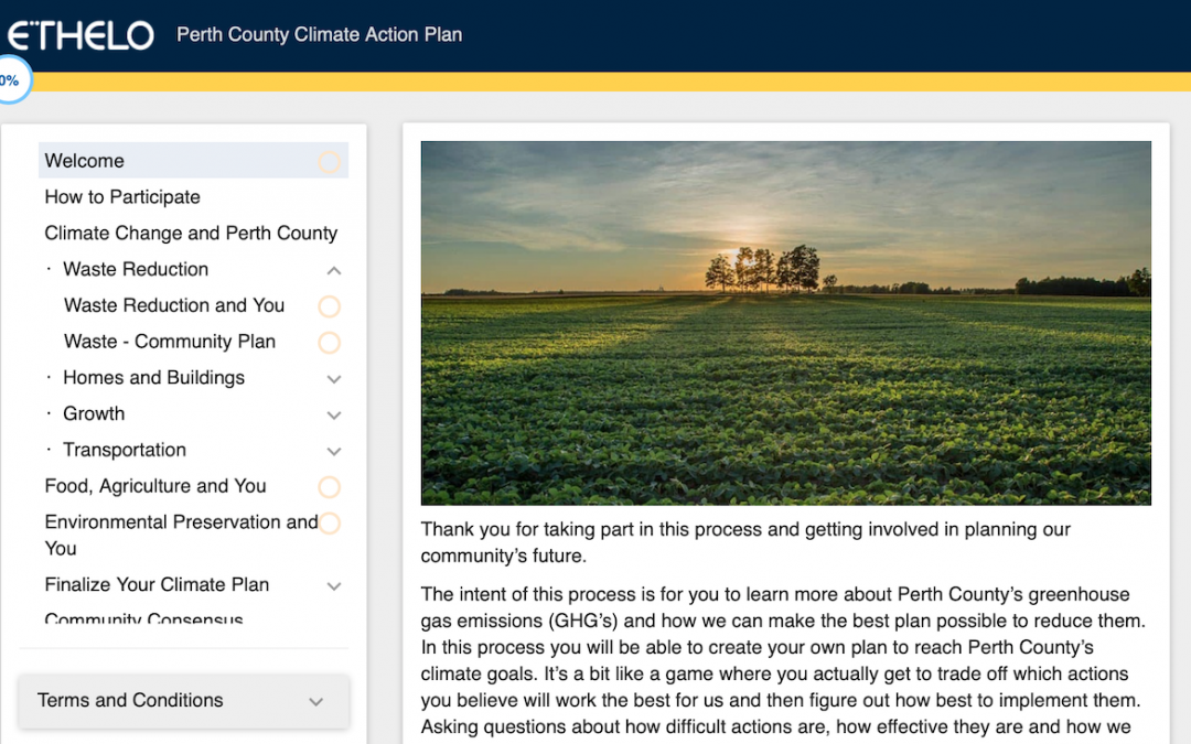 County Launches Online Climate Plan Survey