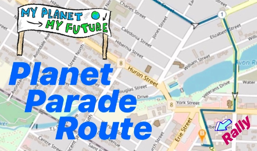 Be Part of the Planet Parade Sept 20th!