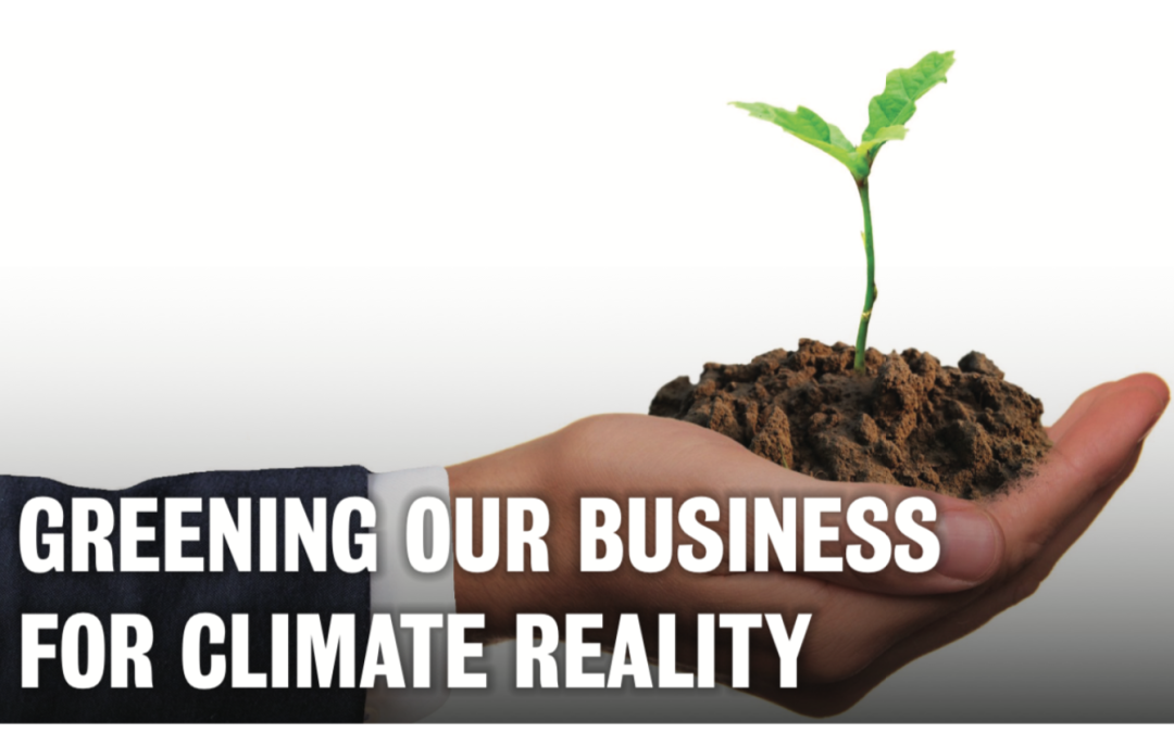 Community Dialogue: Greening Our Business