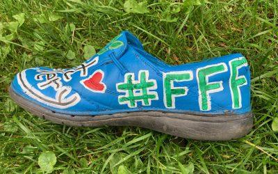Fridays For Future Climate Shoe Strike – Stratford, Sept 25th