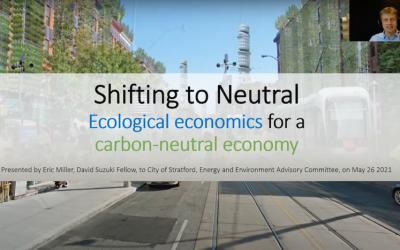 Video: Ecological Economics Speaker Presentation