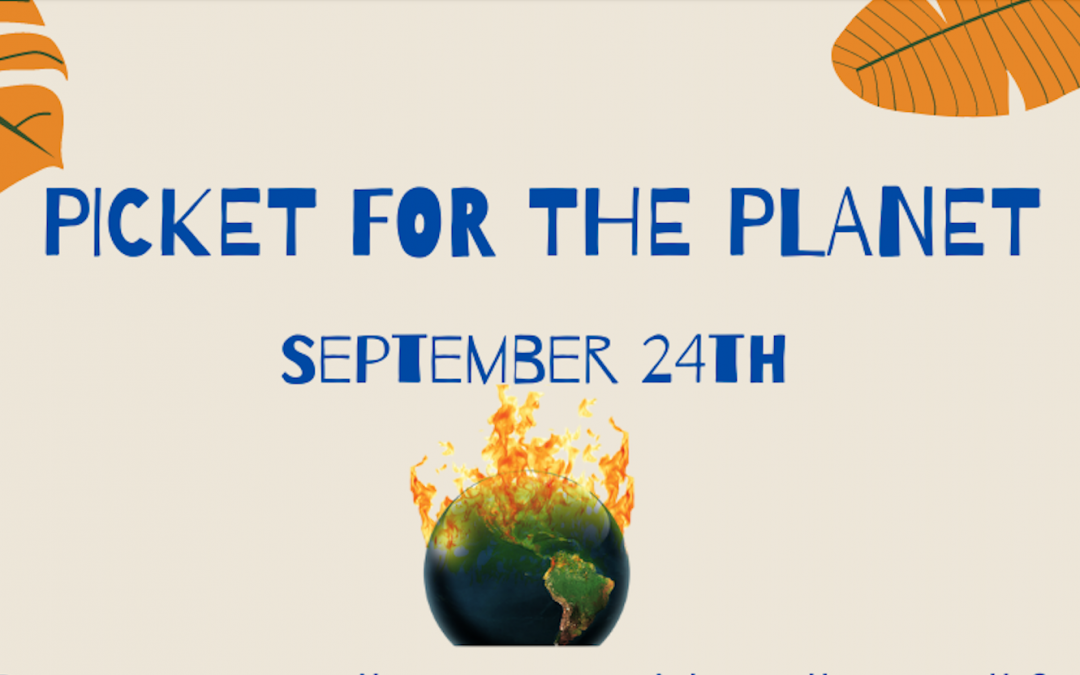 Join the Climate Strike Sept 24th!